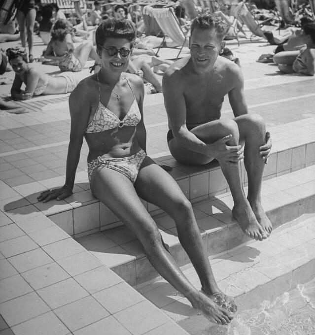 Ральф Морс. Фото 1945 г.