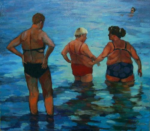 Лето любви. Вечернее купание